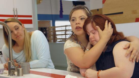 Cristina consoles Rachel