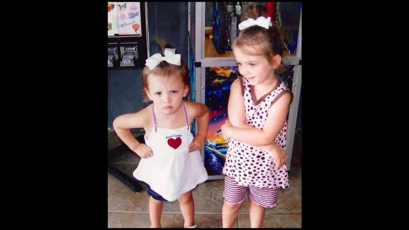 Merritt and Lily Robertson from Duck Dynasty as young children