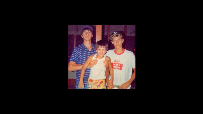 Willie, Jep, and Jase Robertson from Duck Dynasty as kids