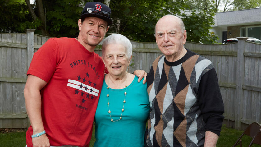 Mark, Aunt Rosemary and Uncle Archie