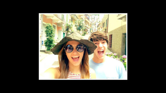Sadie and Cole in Italy