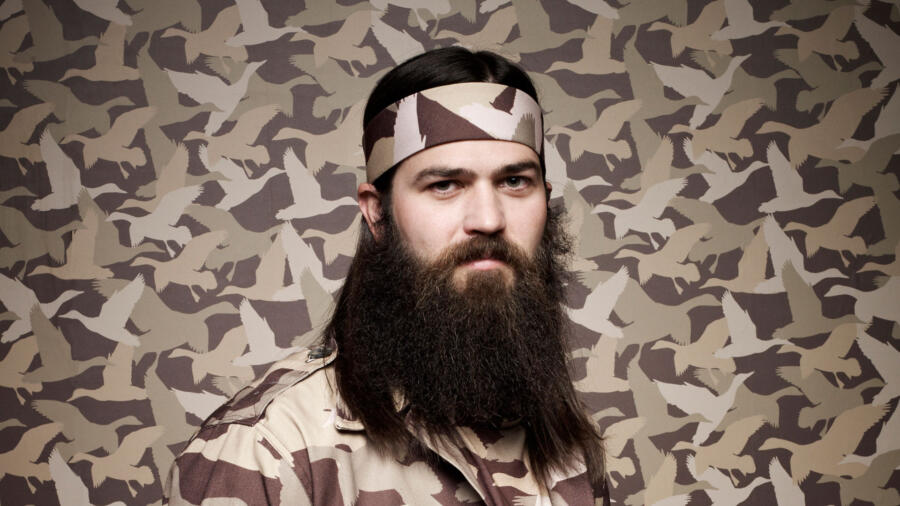 Jep Robertson from Duck Dynasty