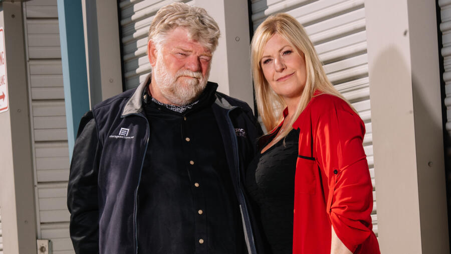 Dan and Laura Dotson on A&E's Storage Wars