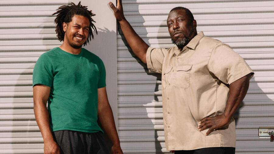 Ivy Calvin and son on A&E's Storage Wars