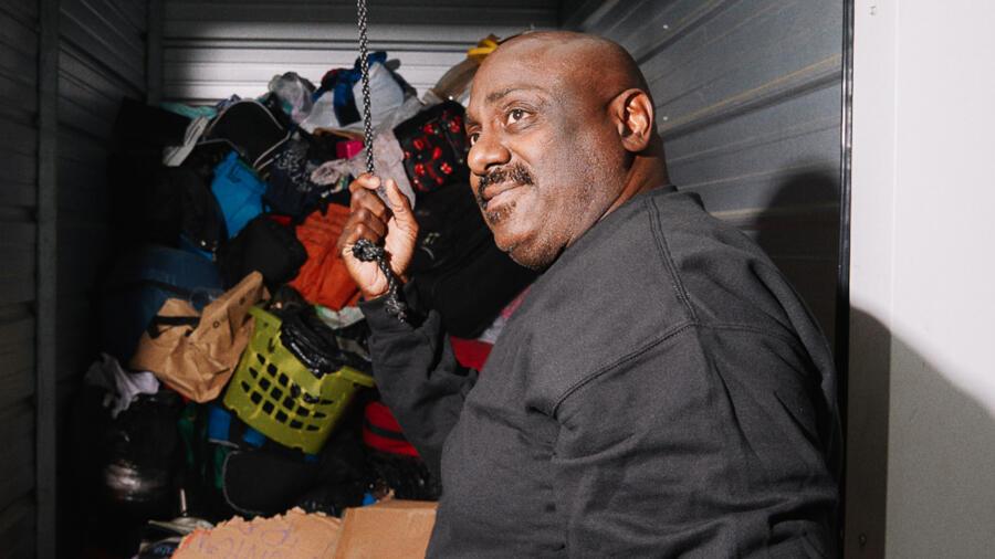 Kenny Crossley on A&E's Storage Wars