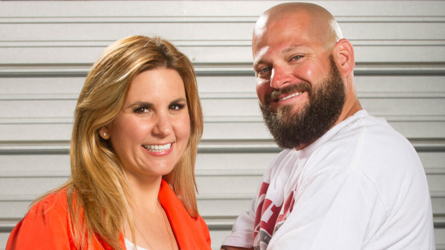 Jarrod Schulz and Brandi Passante from A&E's Storage Wars