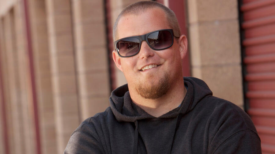 Brandon Sheets from A&E's Storage Wars