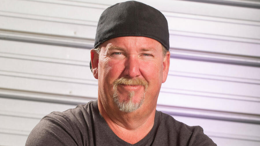Darrell Sheets from A&E's Storage Wars