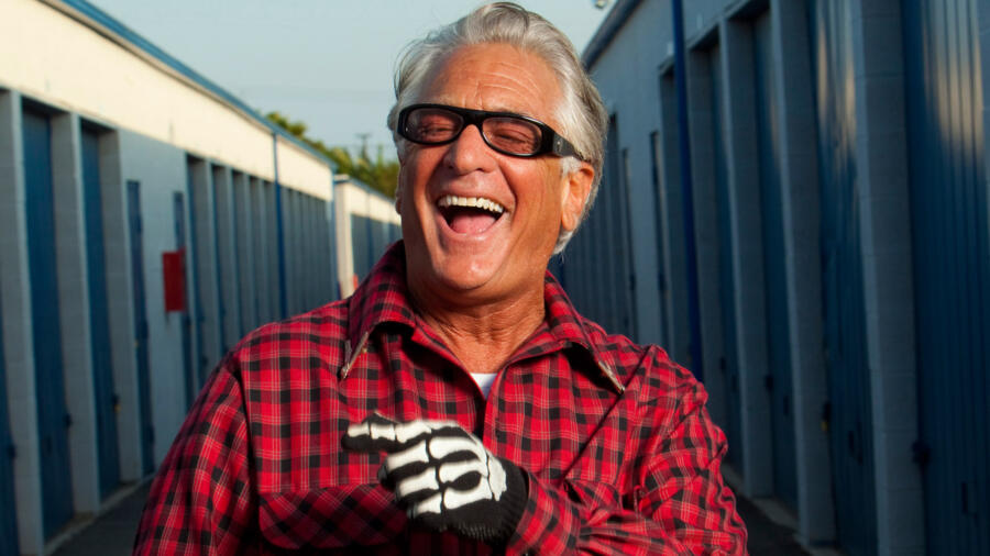 Barry Weiss from A&E's Storage Wars