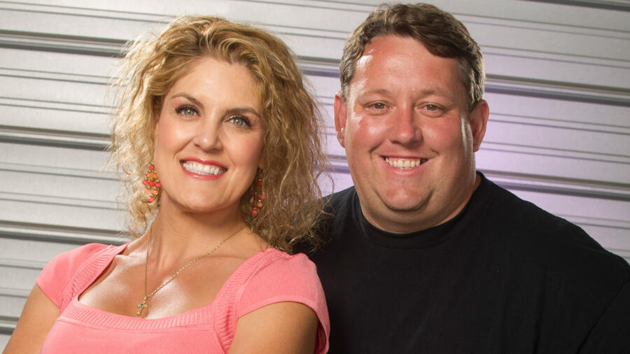 Rene and Casey from A&E's Storage Wars