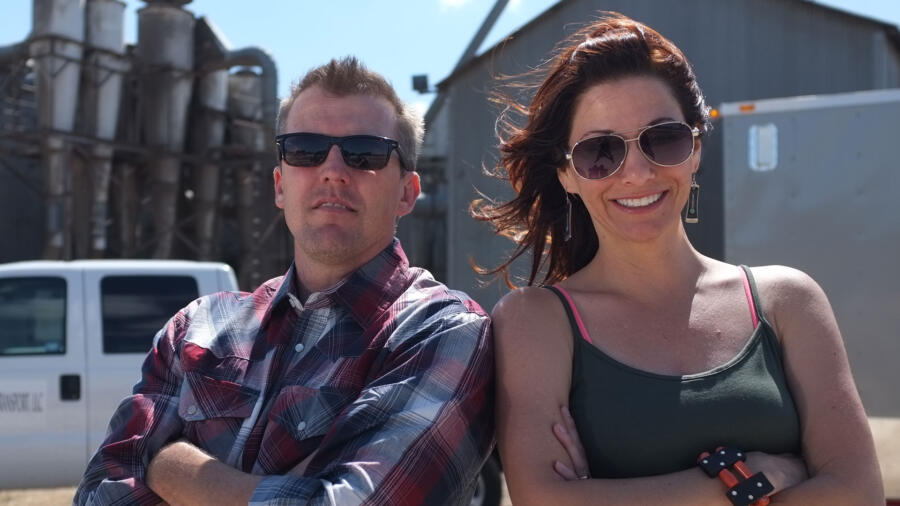 Todd and Tamera Sturgis from Shipping Wars