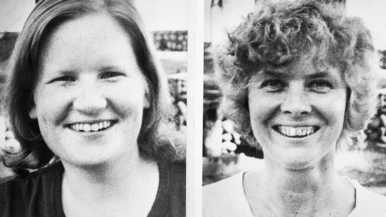 Cleveland, OH-Two of the four American Catholic missionaries slain in violence-ridden El Salvador 12/3 are shown in undated file photos. Slain were lay missionary Jean Donovan, 27 (L), and Sister Dorothy Kazel, 40 (R), an Ursuline nun. Also slain were two Maryknoll nuns, Sisters Ita Ford, 40, and Maura Clarke, 46.