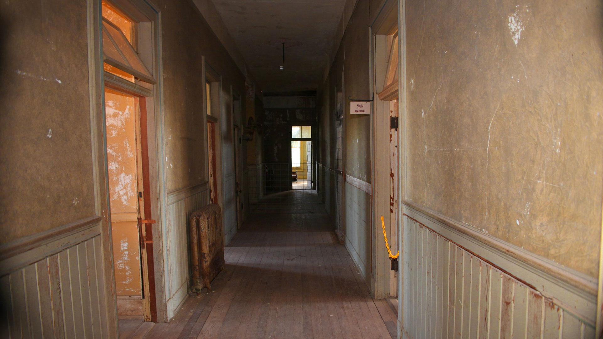 Preston Castle hallway.