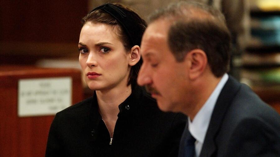 Winona Ryder Shoplifting Trial - Sentencing