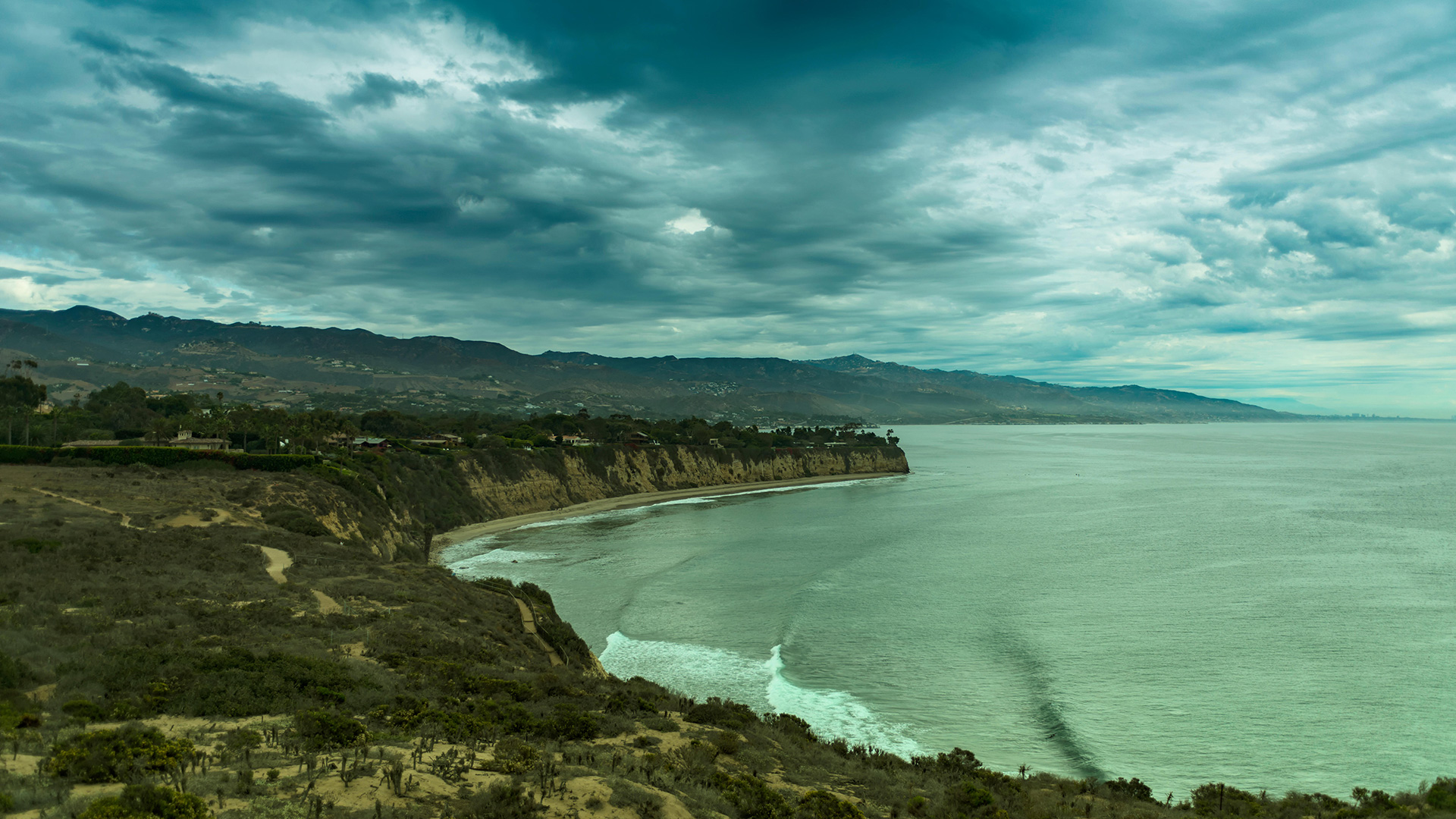 Point Dume, on the coast of Malibu, CA.