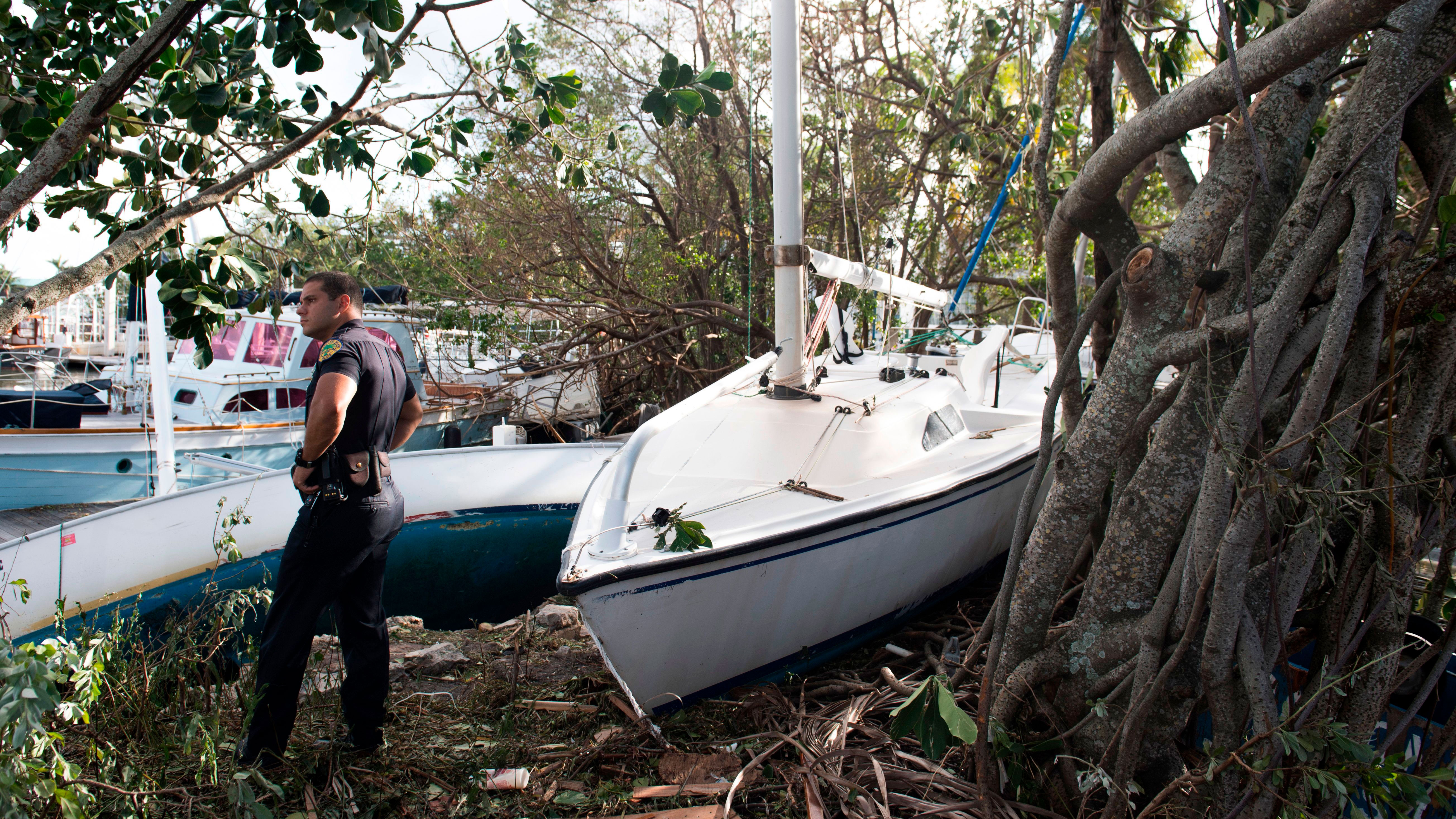 The Unusual Challenges Police Officers Face During a Hurricane