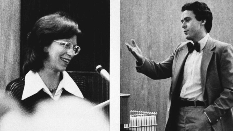Ted Bundy proposing to Carole Boone in court