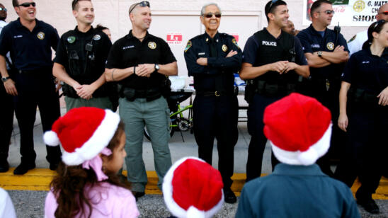 Cops Giving Kids the Gift of Camp for Christmas