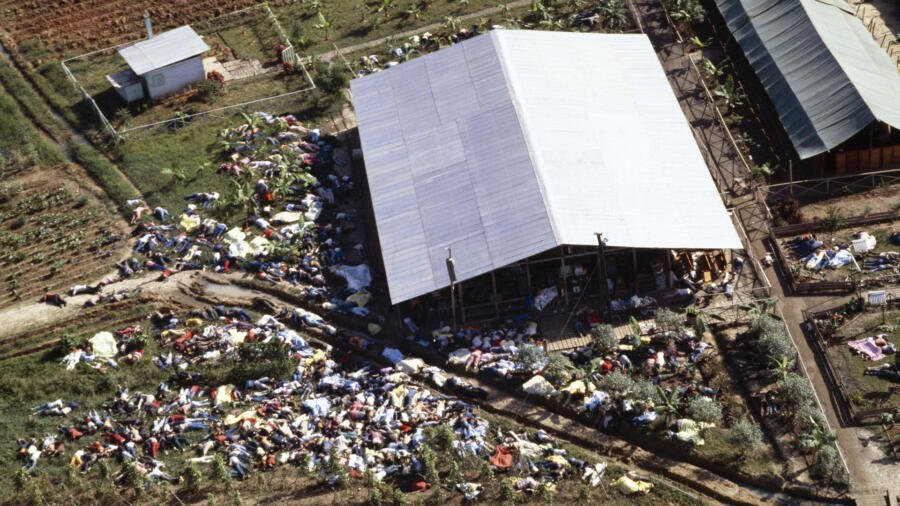 Peoples' Temple Cult at Jonestown Commits Mass Suicide In Guyana