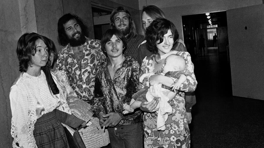 Manson Family Cultists 1970, including Catherine Share