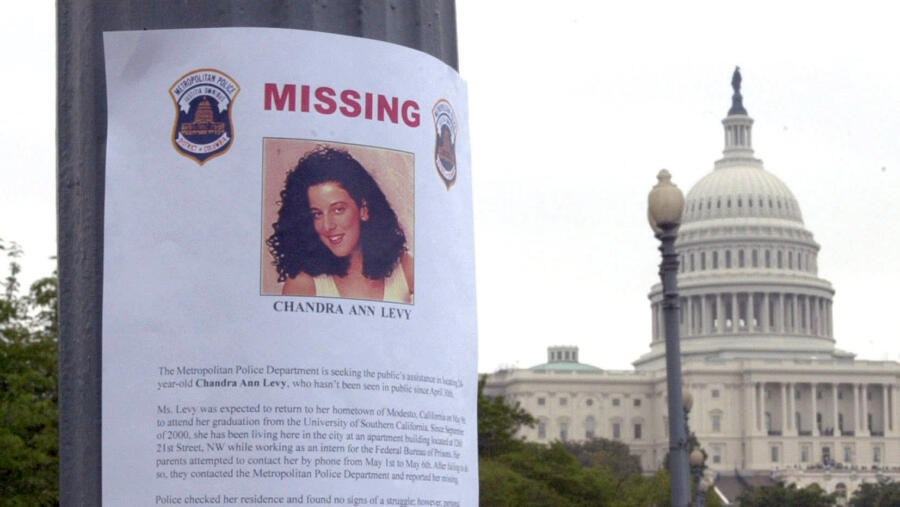 Chandra Levy missing person flyer