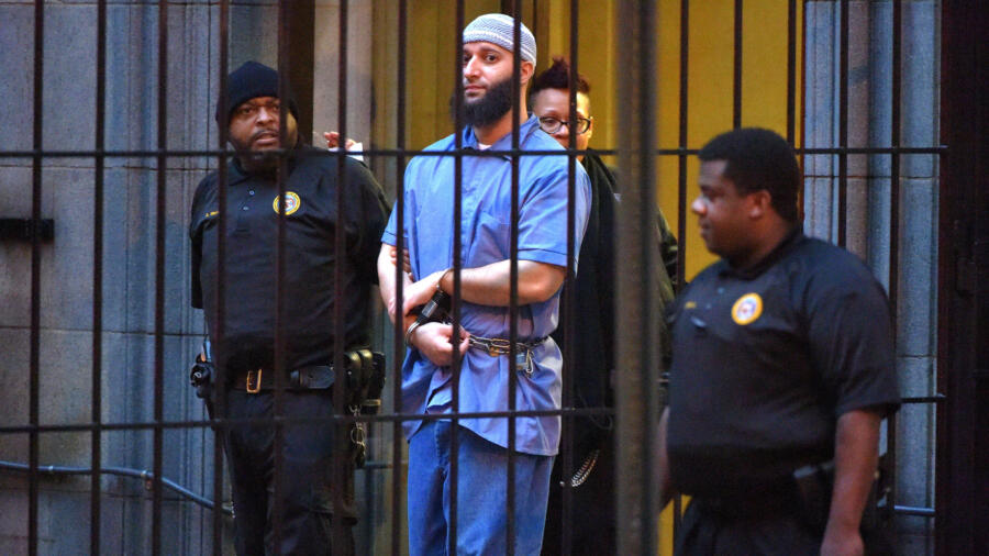 Convicted murderer Adnan Syed, subject of Serial podcast