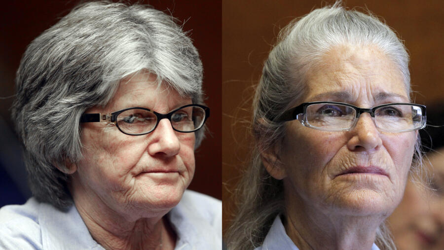 Manson Girls Patricia Krenwinkel and Leslie van Houten