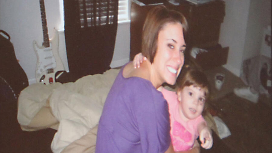 Casey Anthony with daughter Caylee Anthony