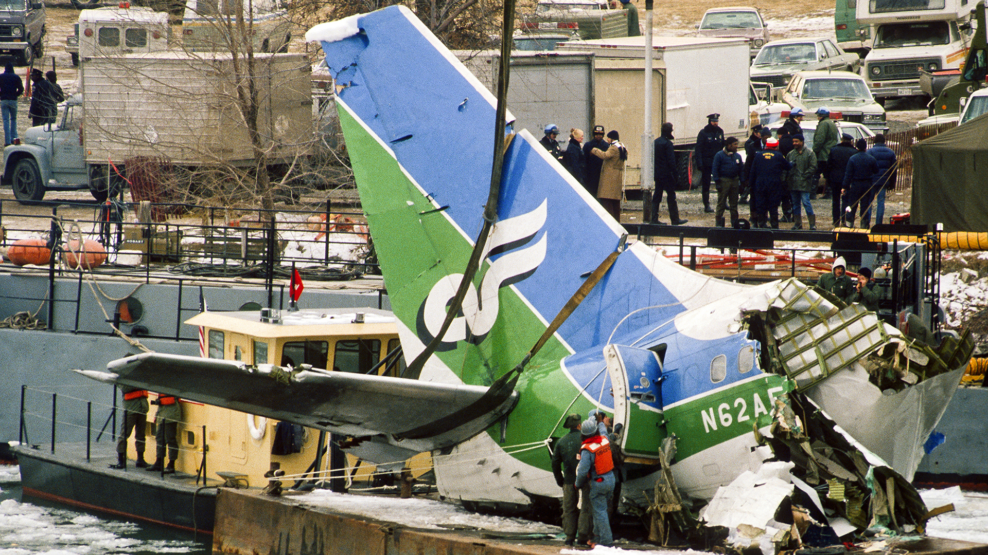 Working an Air-Crash Aftermath: D.C. Cop Recounts Recovery Efforts After the 1982 Air Florida Tragedy