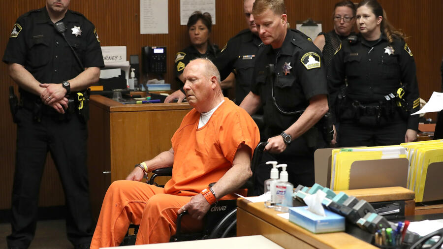 "Arraignment Held For Alleged ""Golden State Killer"" Joseph DeAngelo Jr"