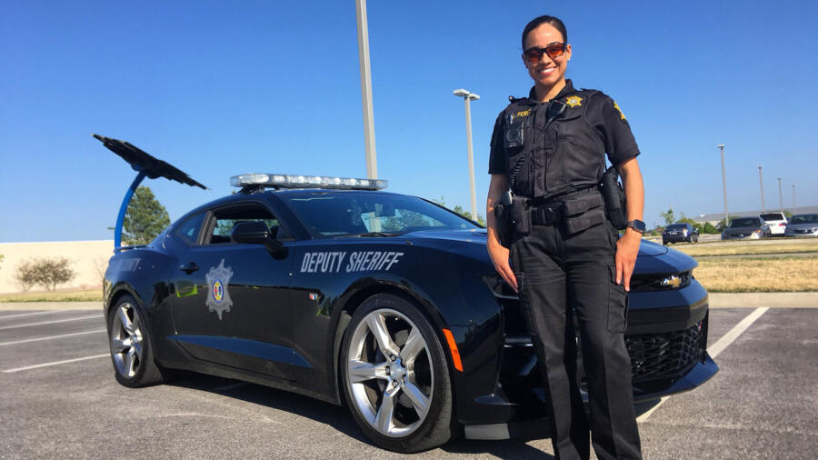 Live PD's Deputy Addy Perez of the Richland County Sheriff's Department