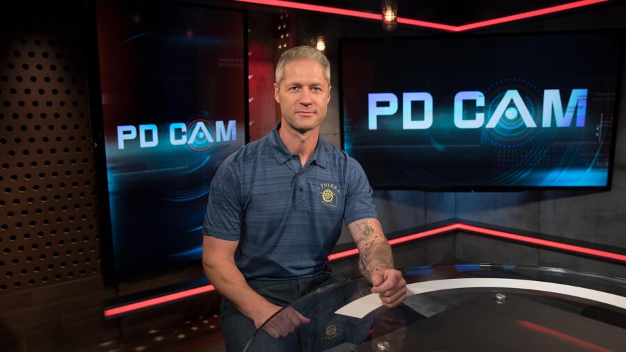 Sgt. Sean 'Sticks' Larkin of Live PD Presents: PD Cam