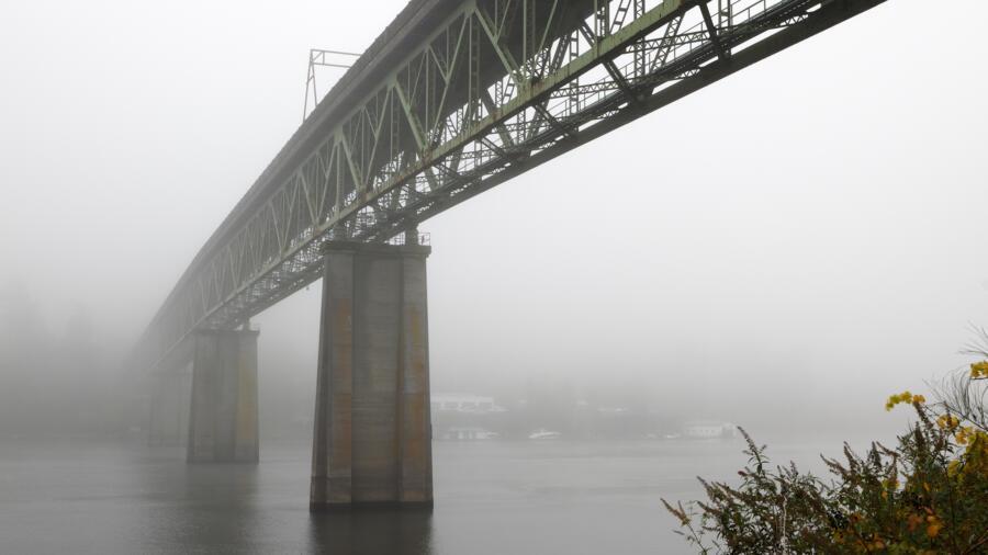 The Sellwood Bridge in Portland, Oregon