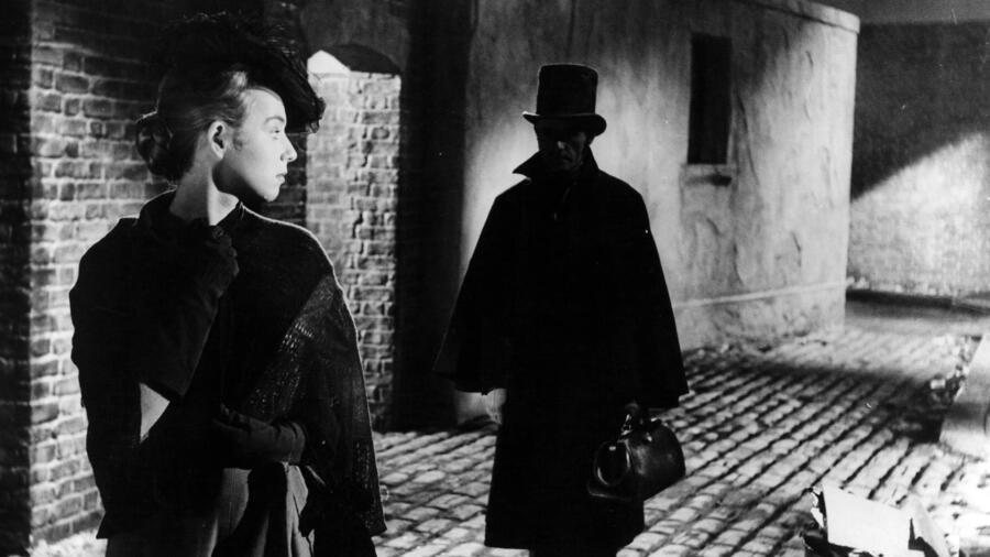 portrayal of the serial killer Jack the Ripper in the 1959 movie Jack the Ripper
