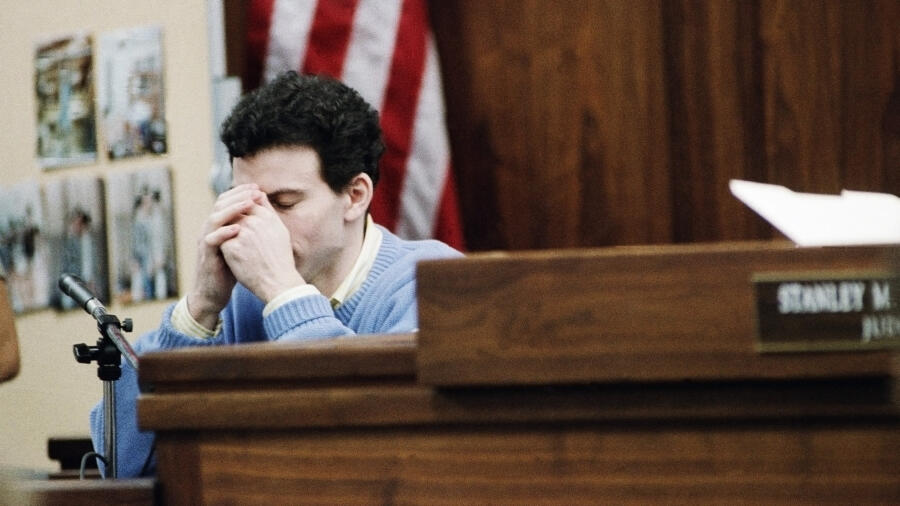 Menendez Trial 1993 - Erik Menendez