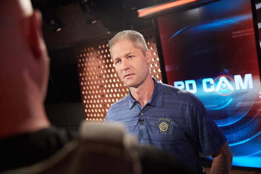 Sgt. Sticks Larkin on PD Cam