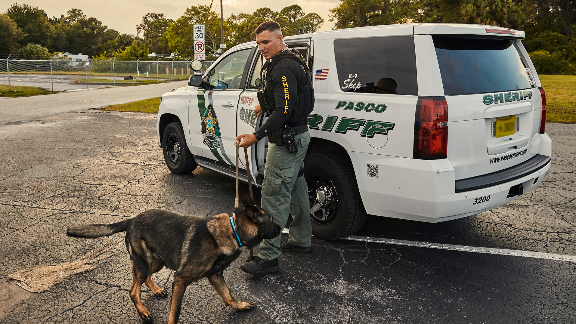 On—and Off—the Clock with K-9 Shep: A Talk with Dep. Nick Carmack
