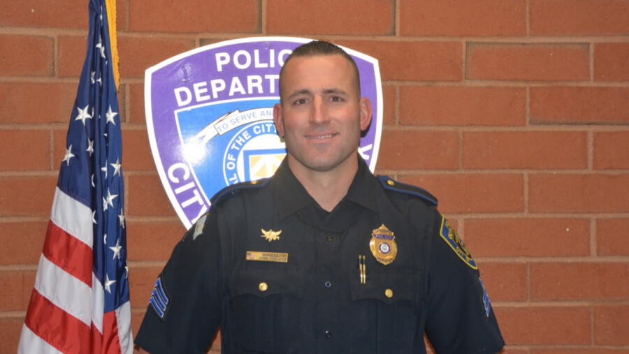 Sgt. John Curley of the Warwick Police Department