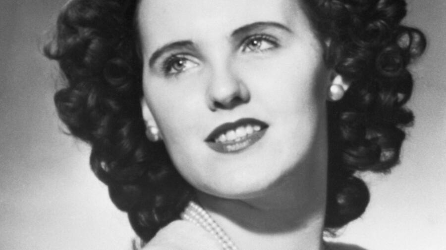 Murder victim Elizabeth Short, also known as The Black Dahlia