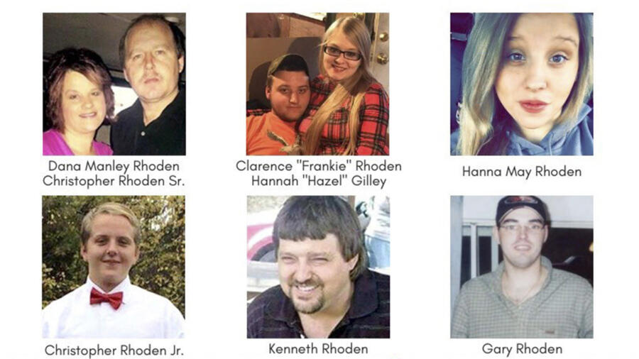 Rhoden family murders of Pike County, Ohio