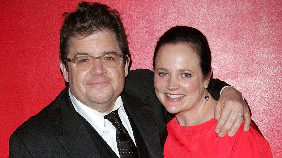 Patton Oswalt and Michelle McNamara