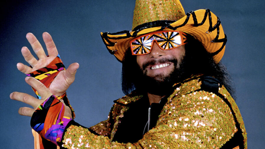 """Macho Man"" Randy Savage (Photo courtesy WWE)"