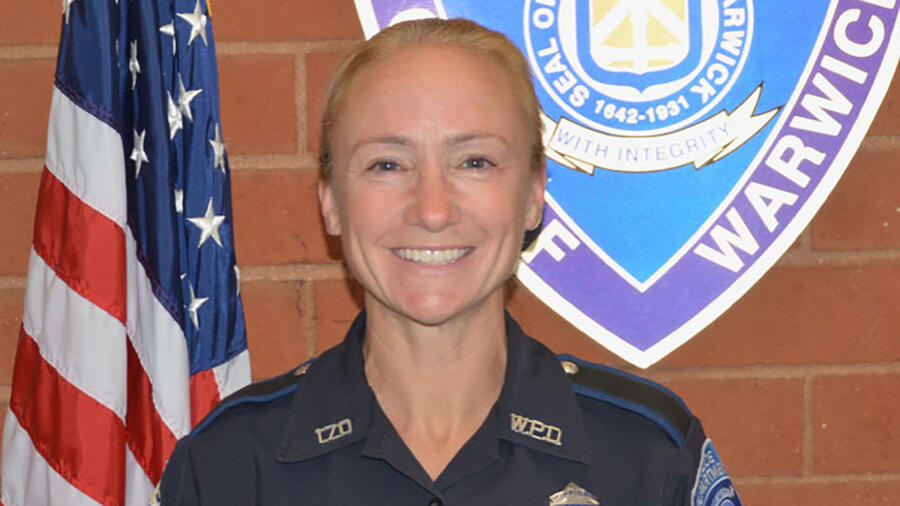 Officer Jill Marshall of the Warwick Police Department
