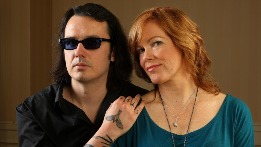 Damien Echols and Lorri-Davis