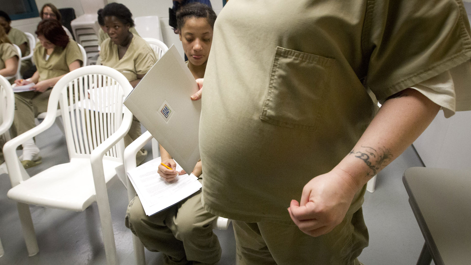 What Happens When a Woman Gives Birth Behind Bars?