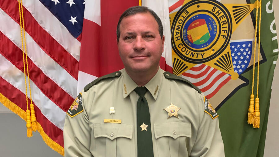 Sheriff Jonathon Horton of Etowah County