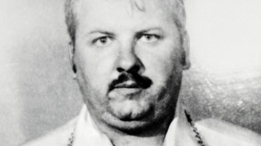 A police photo of serial killer John Wayne Gacy