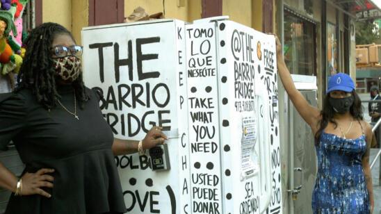 The Barrio Fridge Co-Founders on Feeding Their Community
