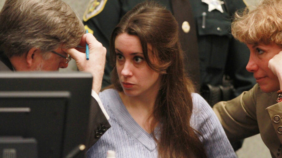 Casey Anthony at her sentencing hearing