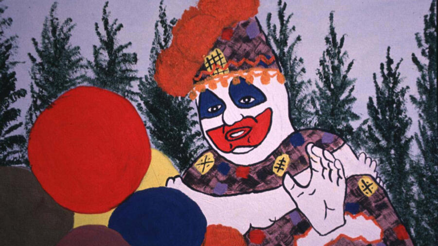 Serial Killer John Wayne Gacy's artwork as Pogo the Clown